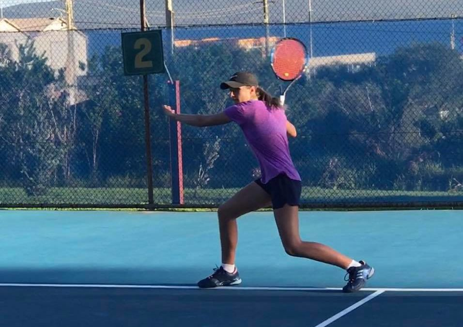 Gibson wins Tennis World 14s in Canberra